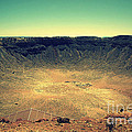 The Meteor Crater In Az 2 by Susanne Van Hulst
