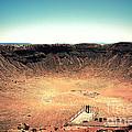 The Meteor Crater In Az 3 by Susanne Van Hulst