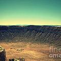 The Meteor Crater In Az 4 by Susanne Van Hulst