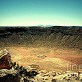 The Meteor Crater In Az by Susanne Van Hulst
