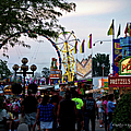 The Midway Lights Up by Paulette B Wright