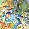The Minotaur In Knossos by Miki De Goodaboom