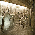 The Miracle At Cana In Galilee - Wieliczka Salt Mine by Jon Berghoff