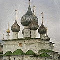 The Monastery Of The Resurrection. Uglich Russia by Juli Scalzi