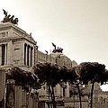 The Monumento Nazionale A Vittorio Emanuele II by Eric Tressler