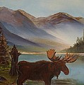 The Mountain Moose by Leslie Allen