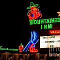 The Mountaineer Inn Neon Motel Series by Corky Willis Atlanta Photography