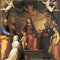 The Mystical Marriage Of Saint Catherine by Fra Bartolomeo