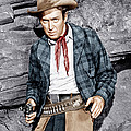The Naked Spur, James Stewart, 1953 by Everett