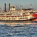 The Natchez Riverboat by Anthony Walker Sr