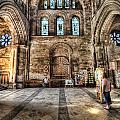 The Nave At St Davids Cathedral 5 by Steve Purnell