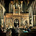 The Nave At St Davids Cathedral by Steve Purnell