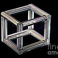 The Necker Cube by Raul Gonzalez Perez
