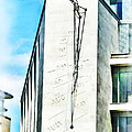 The Noon Sundial At The London Stock Exchange by Steve Taylor