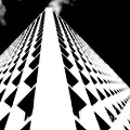 The Office Building Bw by Mike Nellums