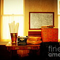 The Office Old Tuscon Arizona by Susanne Van Hulst