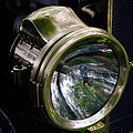 The Old Brass Ford Headlight by Steve McKinzie