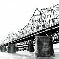 The Old Bridges At Memphis by Lizi Beard-Ward
