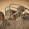 The Old Bulldozer by Steve McKinzie