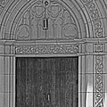 The Old Church Doors by Toma Caul