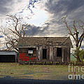 The Old Farm House In My Dreams by Wingsdomain Art and Photography