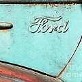 The Old Ford Jalopy . Nostalgia In Abstract . 7d12892 by Wingsdomain Art and Photography