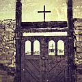 The Old Galisteo Cemetery by Matt Suess
