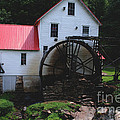 The Old Mill 1886 In Cherokee North Carolina by Susanne Van Hulst