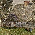 The Old Mulford House by Childe Hassam