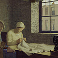 The Old Nurse by Frederick Cayley Robinson