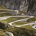 The Old Road To Gotthard Pass by Buena Vista Images