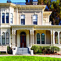 The Old Victorian Camron-stanford House In Oakland California . 7d13440 by Wingsdomain Art and Photography