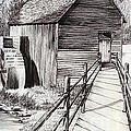 The Ole Millhouse by Cheryl Poland