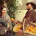 The Orange Seller  by William Edward Millner