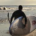 The Paddleboarder by Steve Gravano