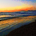 The Painted Waves Of Dawn  by Steve Taylor