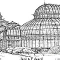The Palm House For Jane And Edward by Building  Art