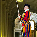 The Papal Swiss Guard by Jon Berghoff