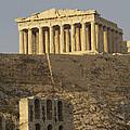 The Parthenon On The Acropolis by Richard Nowitz