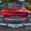 The Perfect Red Bel Air by Lee Dos Santos