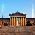 The Philadelphia Museum Of Art Front View by Bill Cannon