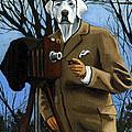 The Photographer - Dog Portrait by Linda Apple