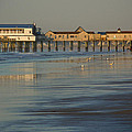The Pier On Old Orchard Beach by Nancy Griswold