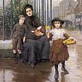 The Pinch Of Poverty by Thomas Benjamin Kennington