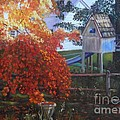 The Playhouse In Fall by Marlene Book