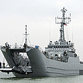 The Polish Lublin-class Minelayer Orp by Stocktrek Images