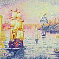 The Port Of Marseilles by Henri-Edmond Cross