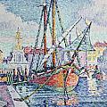 The Port by Paul Signac