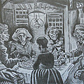 The Potato Eaters By Vincent Van Gogh by Andrew Nelson