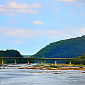The Potomic River West Virginia by Bill Cannon